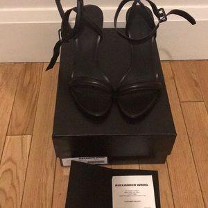 Alexander Wang Antonia black heels